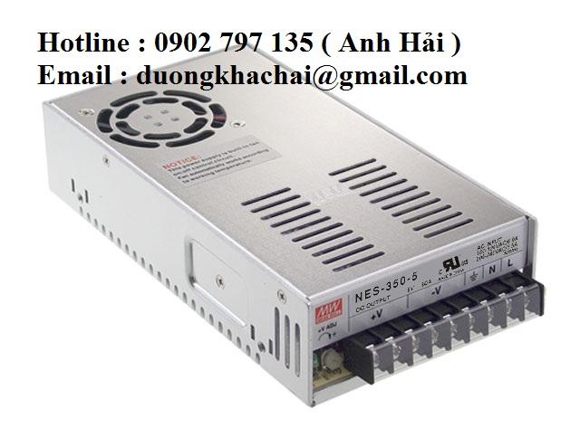 NES-350-48|Bộ nguồn Meanwell NES-350-48, bộ nguồn Meanwell 350W 48V 7.3A