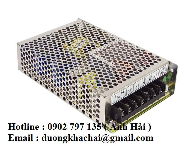 NES-75-48|Bộ nguồn Meanwell NES-75-48, bộ nguồn Meanwell 75W 48V 1.6A