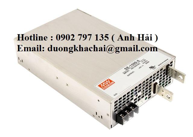 SE-1500-24|Bộ nguồn Meanwell SE-1500-24, bộ nguồn Meanwell 1500W 24V 62.5A