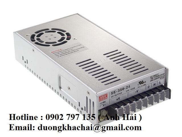 SE-350-5|Bộ nguồn Meanwell SE-350-5, bộ nguồn Meanwell 350W 5V 60A