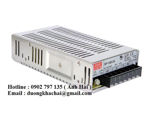 SP-100-7.5|Bộ nguồn Meanwell SP-100-7.5, bộ nguồn Meanwell 100W 7.5V 13.5A