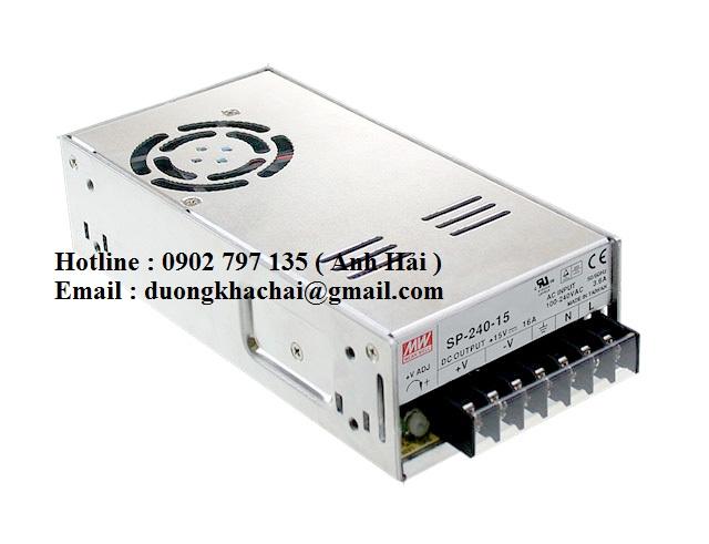 SP-240-5|Bộ nguồn Meanwell SP-240-5, bộ nguồn Meanwell 240W 5V 45A