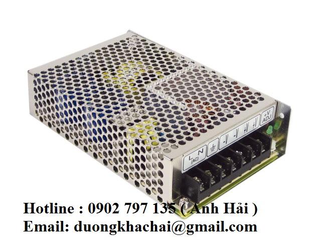 RS-100-48|Bộ nguồn Meanwell RS-100-48, bộ nguồn Meanwell 100W 48V 2.3A